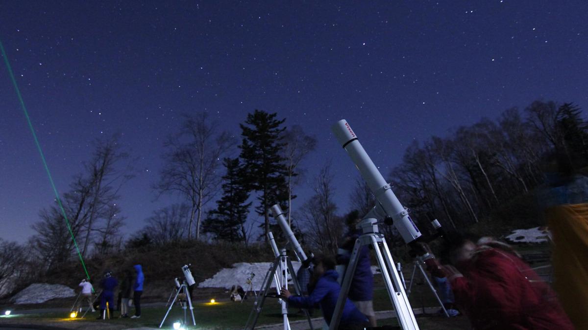 天空の楽園 Vixen 天体の望遠鏡で星空観測