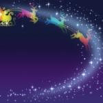 星空のトナカイ達 イメージ