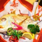 初節句の祝い膳の鯛