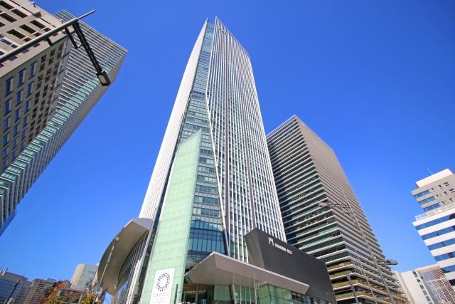 高いビルの写真