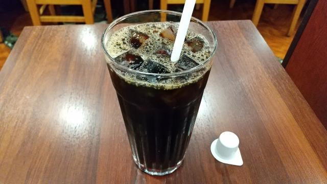 アイスコーヒーとフレッシュ