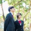 中学生のカップル