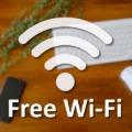 自由に接続できるwifi