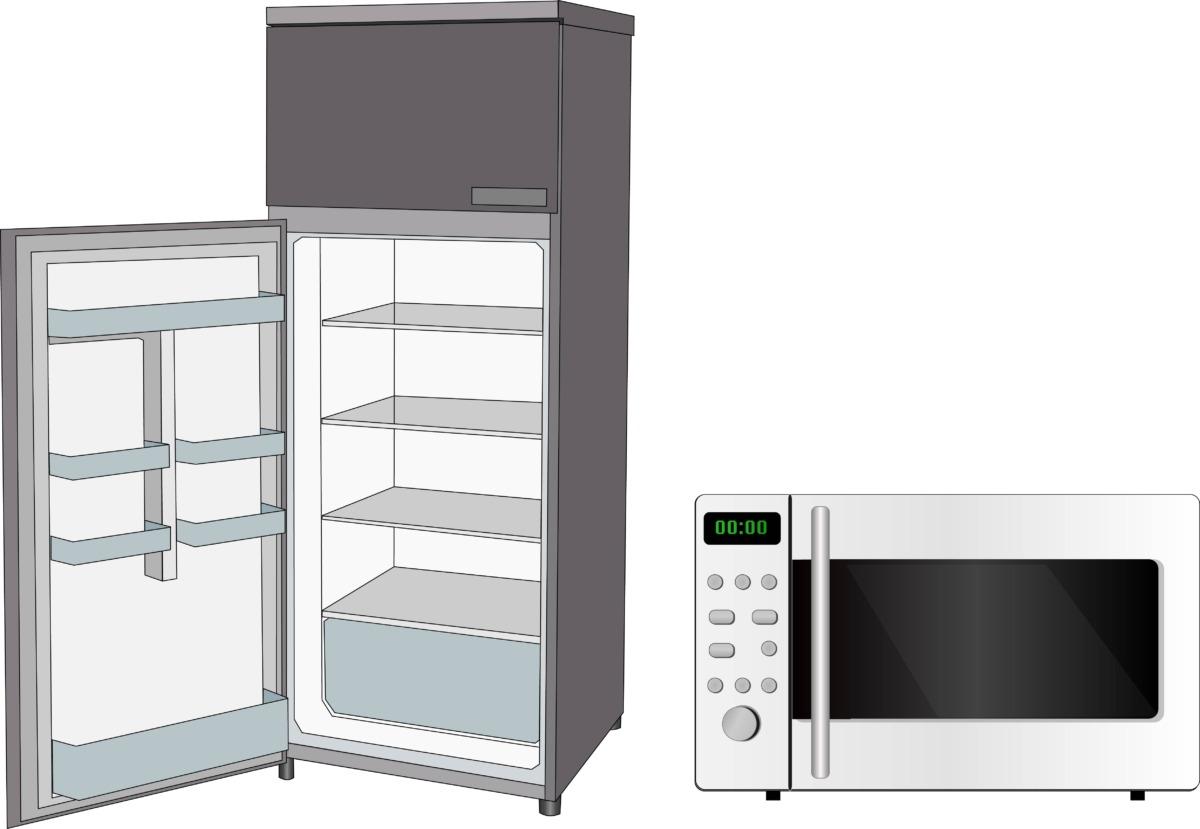 解凍できる家電製品